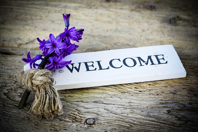 welcome sign; tetelestai